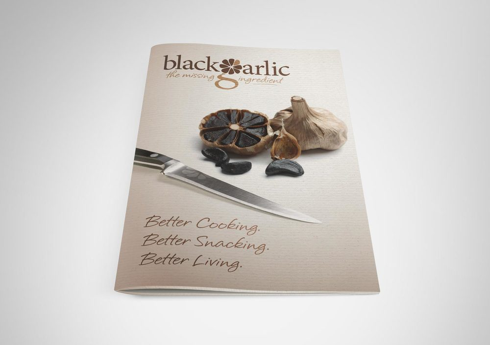 Black Garlic / Press Pack / Cover
