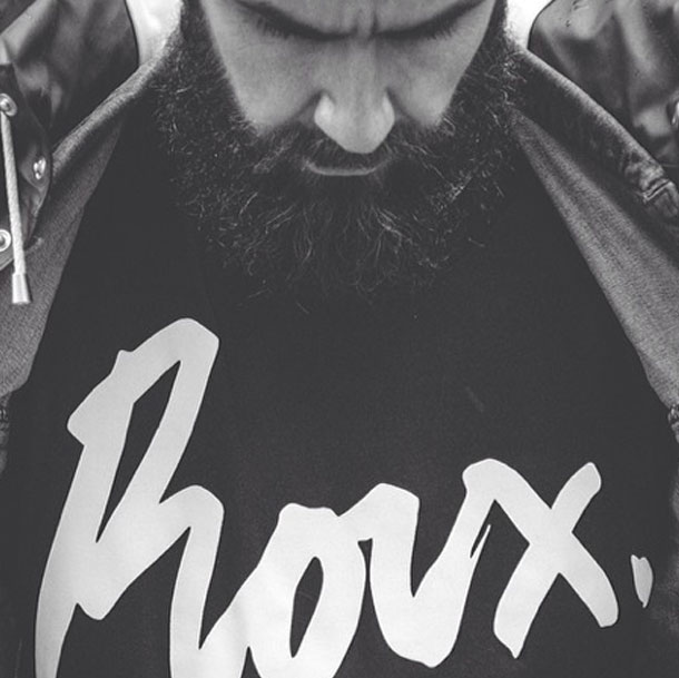 Roux / Founder / Logo / Shoot / London Fashion Week