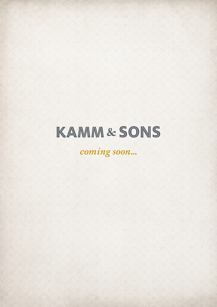 Kamm & Sons / Coming Soon Poster
