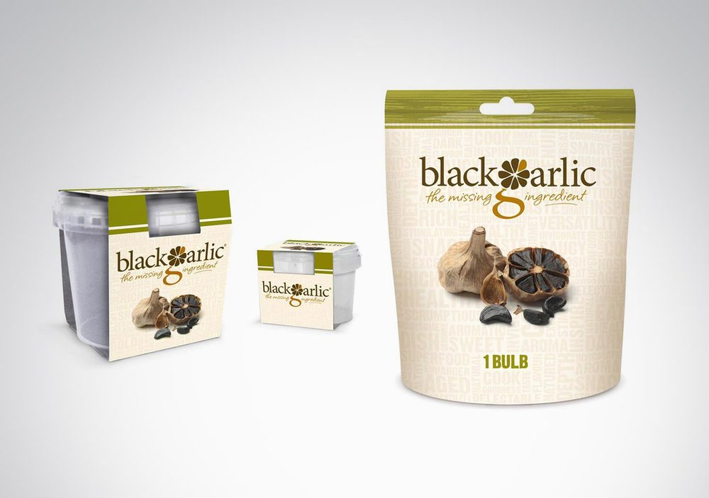 Black Garlic / Packaging