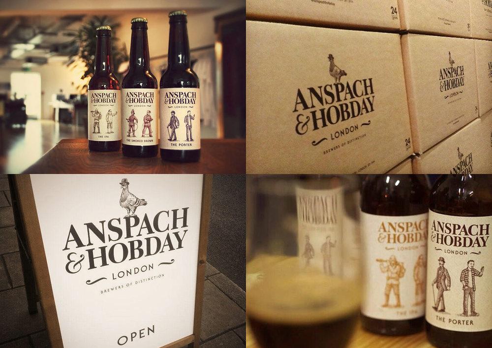 Anspach & Hobday / Branding