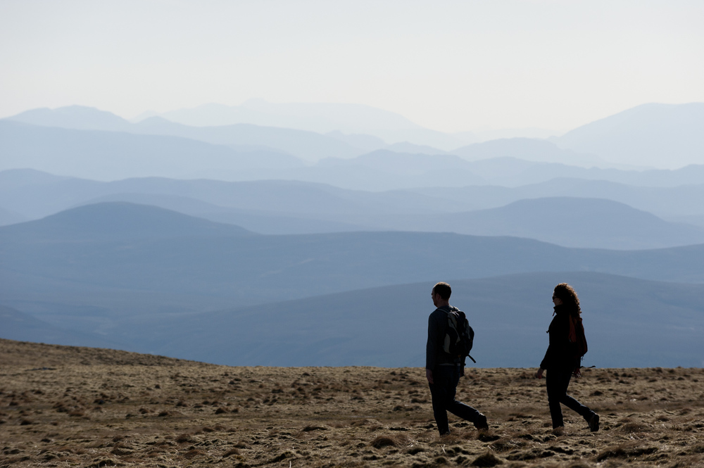 Nearby walking in the Cairngorms