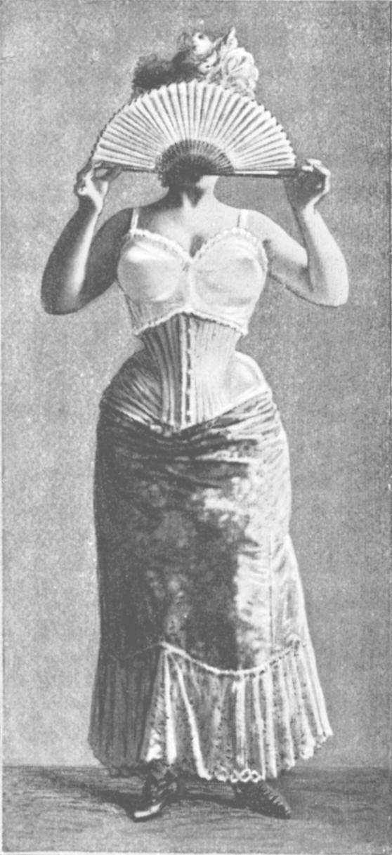 Support of the bosom by a bodice (French: brassière). 1900