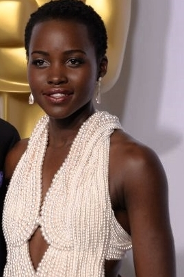 Lupita Kyongo'o at The Oscars 2015