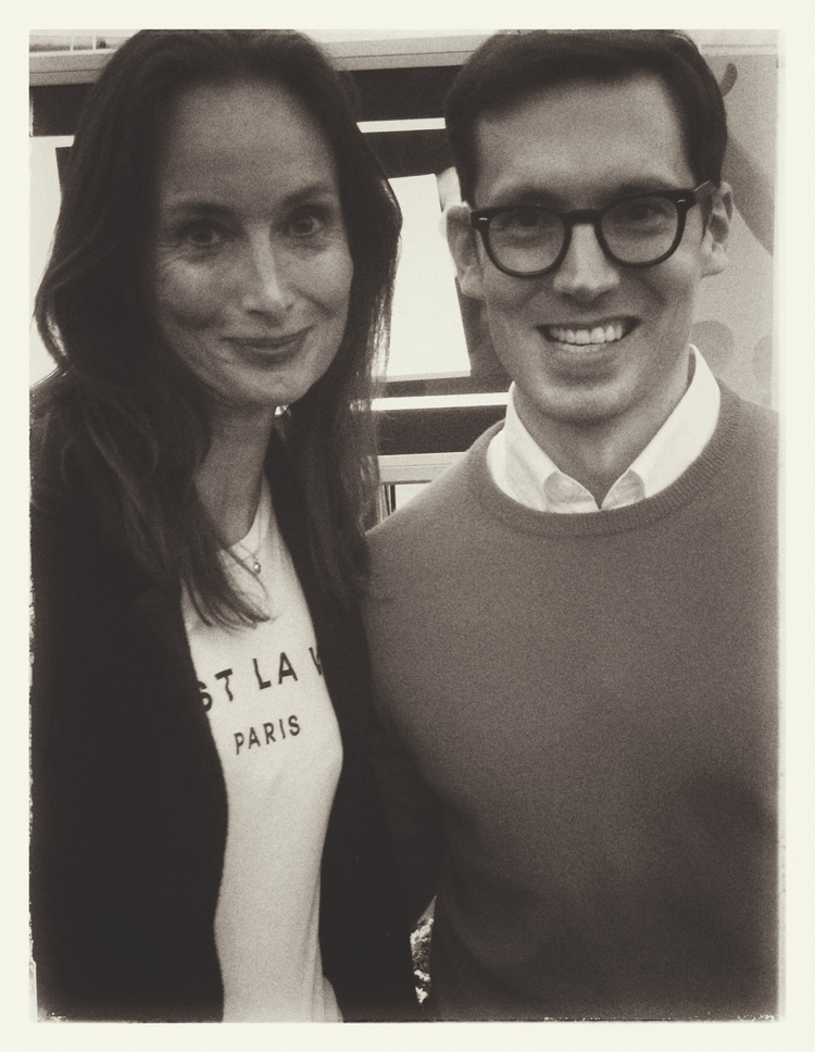 Karen with Erdem, Photo credit, Emma Carlow