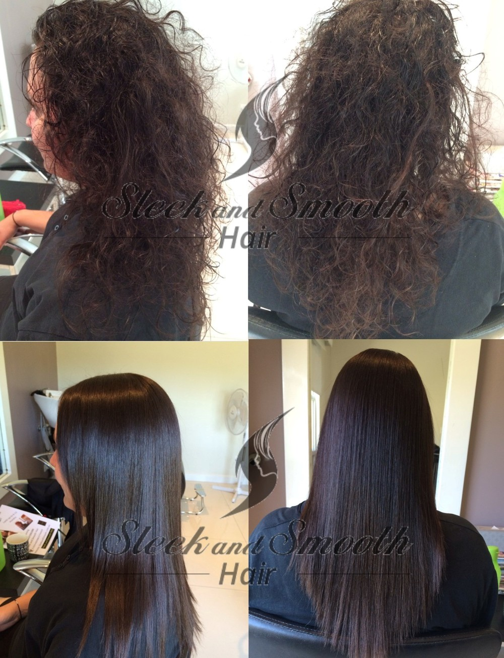 Permanent Japanese Hair Straightening Sleek And Smooth