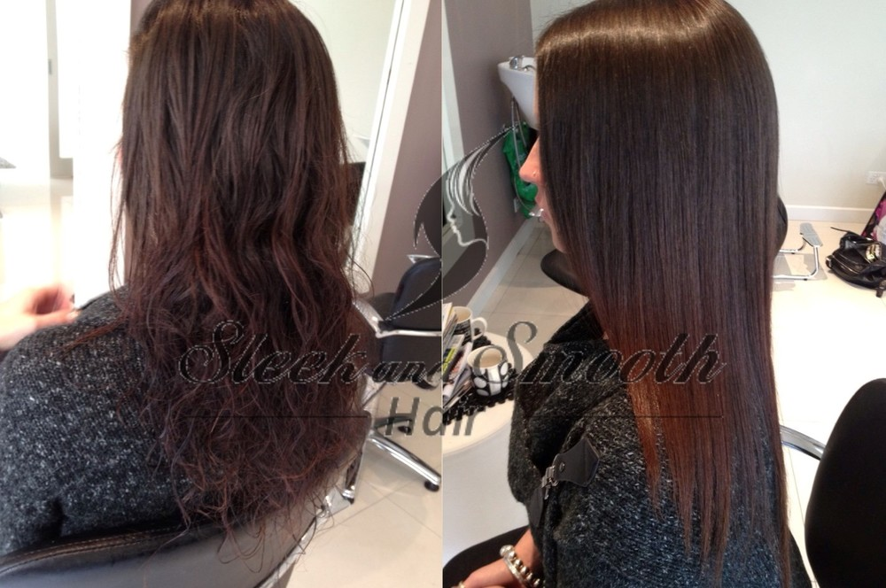 Permanent Japanese Hair Straightening Sleek And Smooth Hair