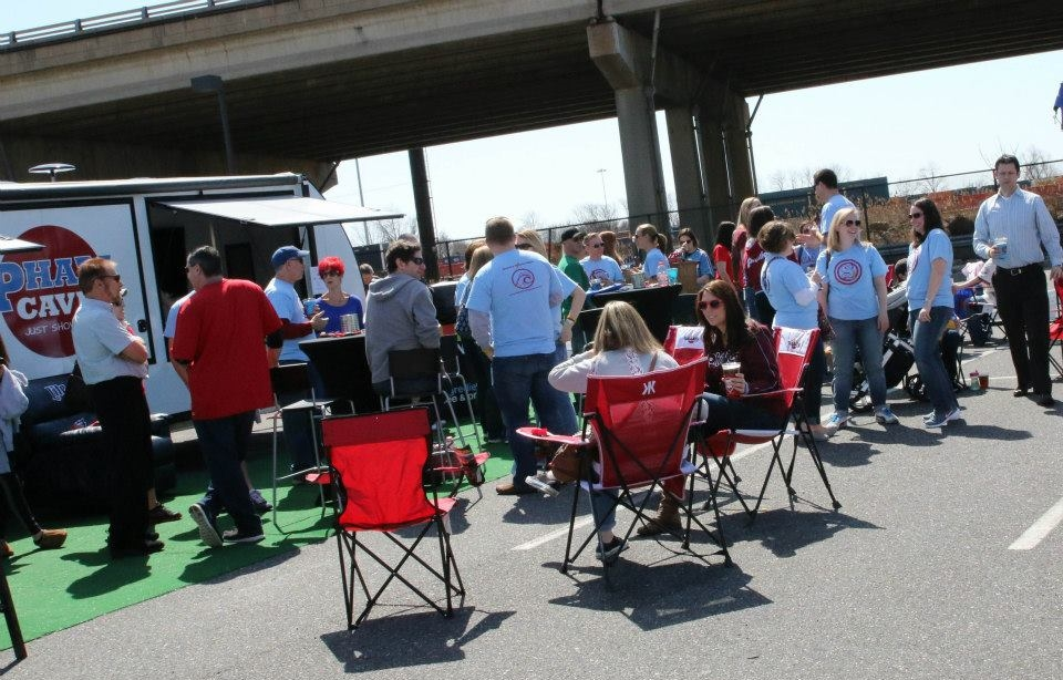 Phillies Opening Day Tailgate with Phillies Nation!   Phan Cave, Phillies Nation and Philly PR Girl teamed up to #tailgate4good for Shane's Future Days at Opening Day! We raised $2000 for the foundation!