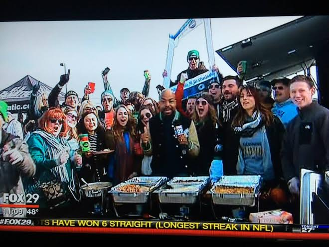 The Phan Cave on Fox29 Weekend!   Phan Cave on Fox29 with Q! Fox29 covered our Philabundance #tailgate4good with an entire Thanksgiving tailgate menu!