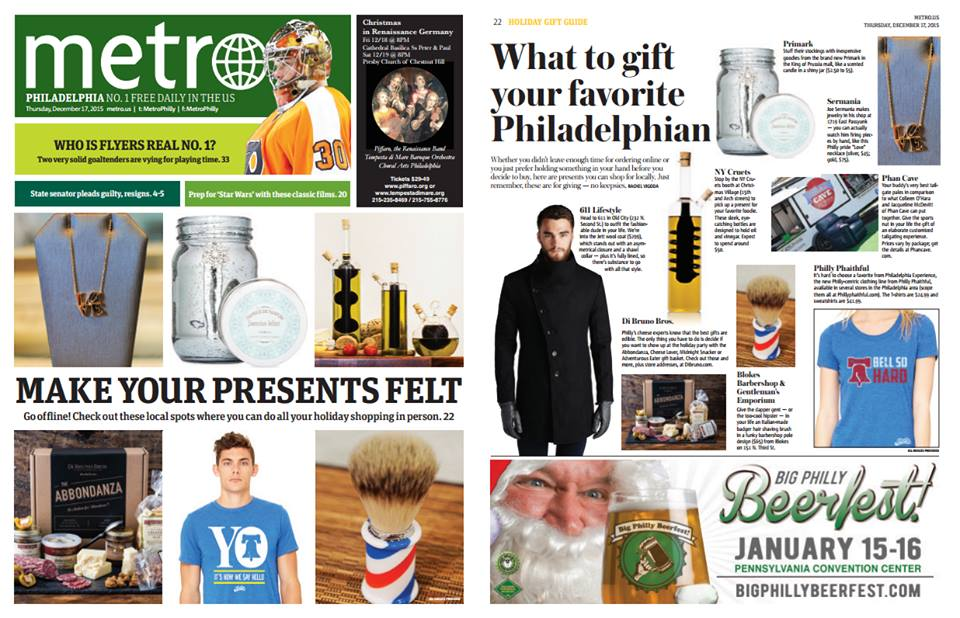Metro Philly Shop Local Gift Guide