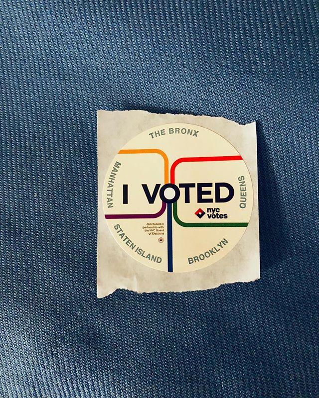 Go vote!!!