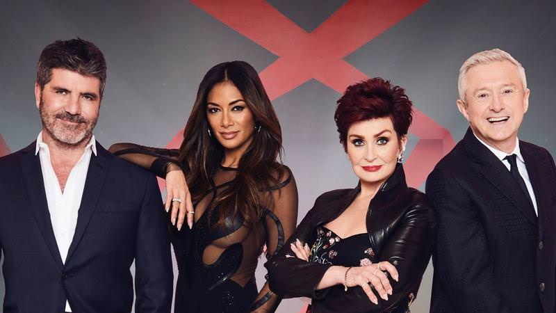 The X Factor - Performance VisualsCreative Director:The Squared Division & Harriet EliasClient: SYCO Entertainment