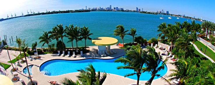Located Next to Biscayne Bay