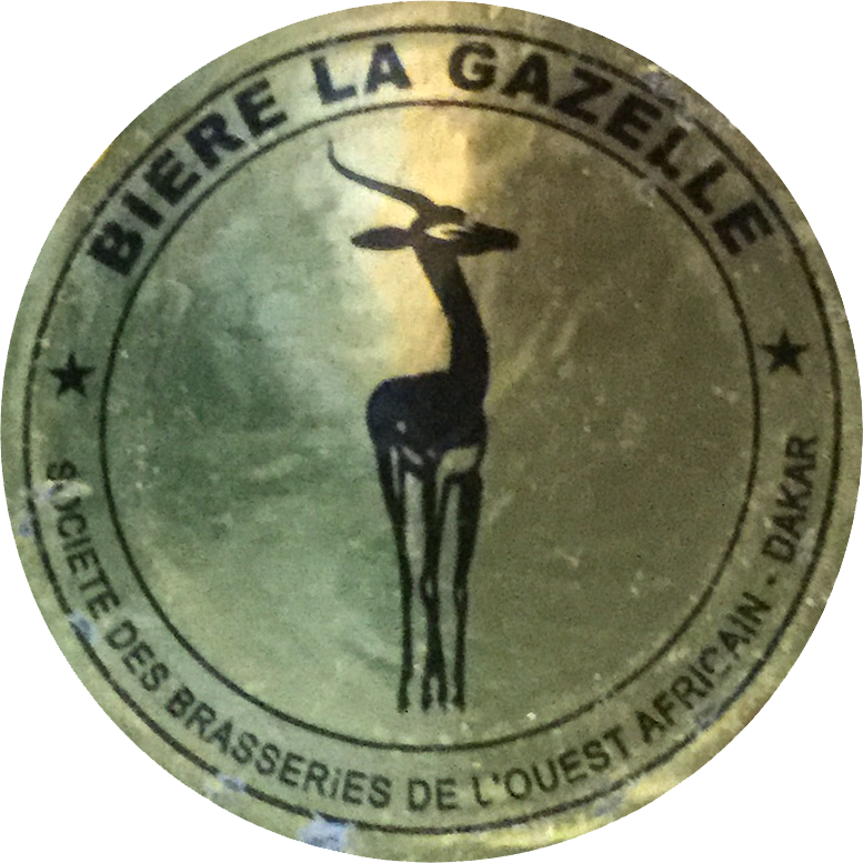 A gazelle is a small antelope found in many parts of Africa. It is known for its alert nature and ability to respond quickly. Coincidentally, it is also a local beer that tastes pretty good at the end of a hot African day.