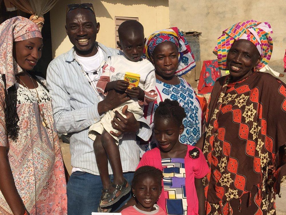 Bamba's family.