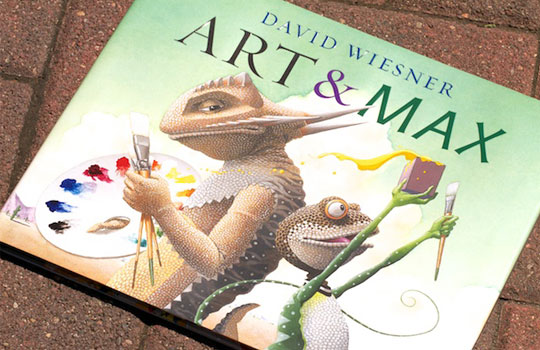 3 time  Caldecott  Winner: Author/Illustrator  David Wiesner  (pronounced WEEs-ner)