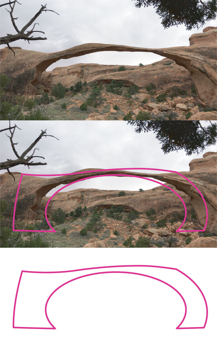 And Landscape Arch.  Grateful we got to experience its presence here on Earth.  It has had some trying times.
