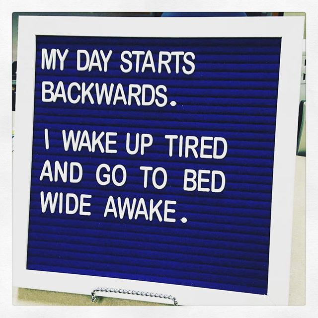 It's like bizarro world. . . . *life-hack: drink a Sleepyhead to flip-flop that craziness - wake up refreshed & go to bed sleepy. . . . #drinksleepyhead #sleepyhead #sleepy #sleep #gobacktobed #borntobesleepy #ilovesleep #sleepislife #sleepmemes #memes #funny #instafunny #sleephelp #health #wellness