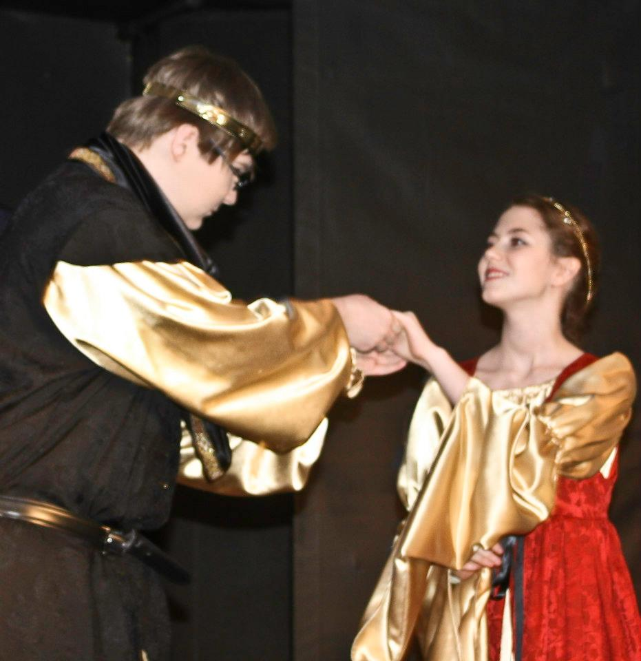 R+G, Queen Gertrude and Claudius.jpg