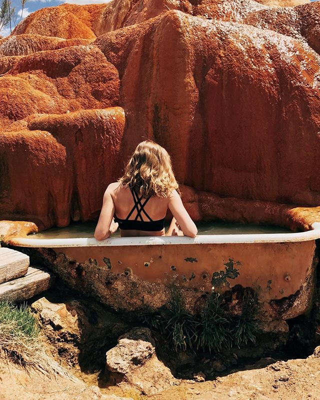 Rx: No phones, no social media, just a full day of hot spring bliss @mystichotsprings
