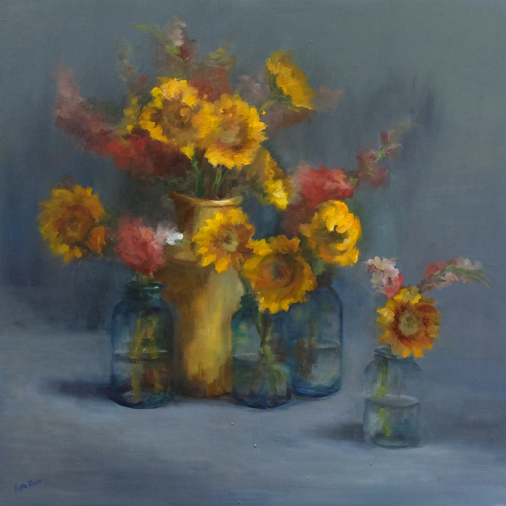 Faust - Grandma's Jars & Sunflowers - Impressions of New England
