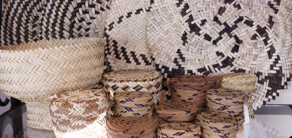 Tarahumara Baskets in our shop.