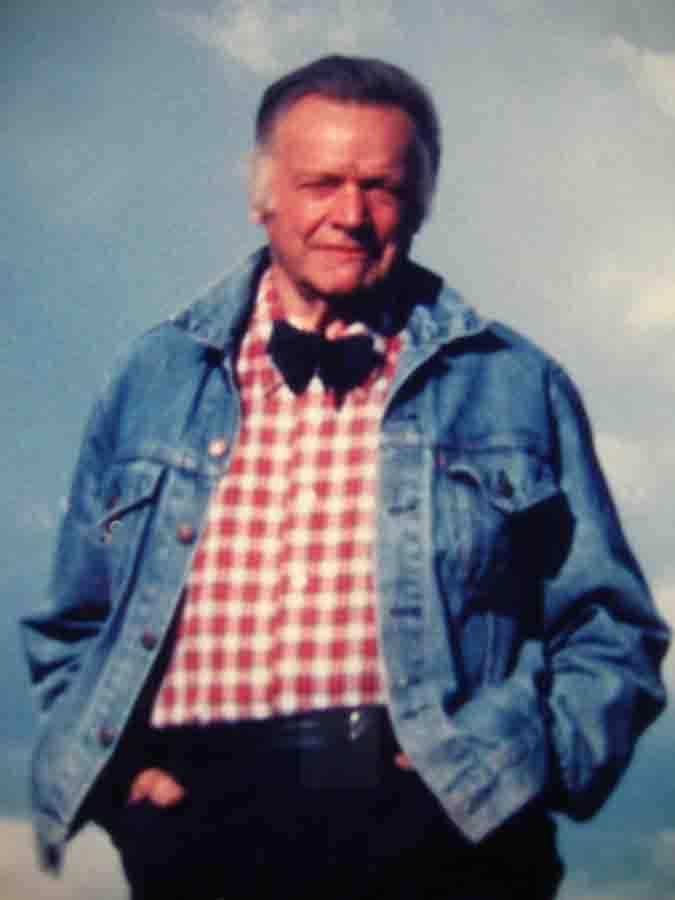 Eric Sloane - Circa 1983 near Santa Fe, New Mexico