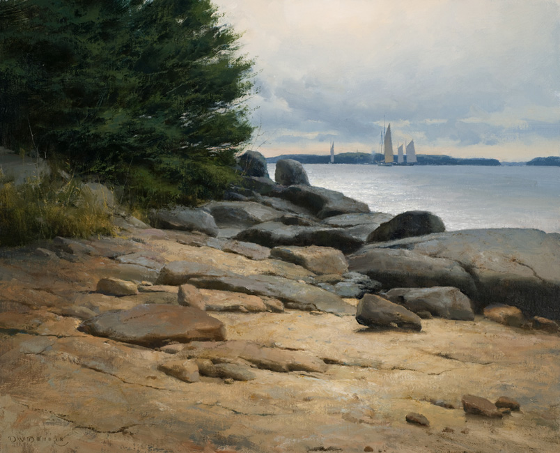 Littoral Path by Donald Demers