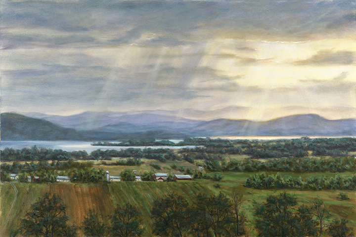 Drewyer_4_Illuminated Lake Champlain_24x36 OIL.jpg
