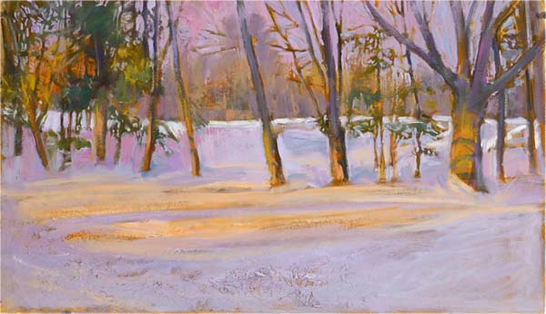 FAMA,,JOSEPH-Evening Snow-.jpg