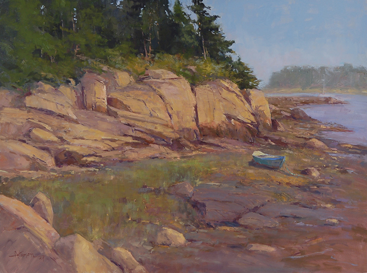 Larsen_Sun and Fog_30x40_oil.JPG