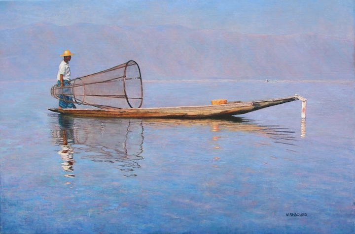 Shachar_The Fisherman 20x30.jpg