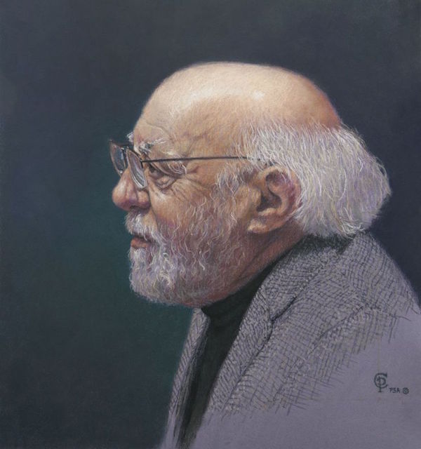 Post, The Mentor, pastel, 24 x 26 in..jpg