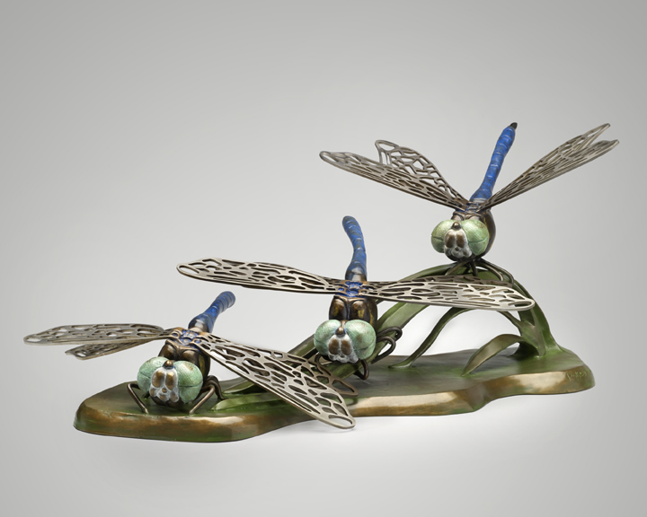 2-Pokey Park-Dragonflies-11x24x14-Bronze-stainless steel wings.jpg