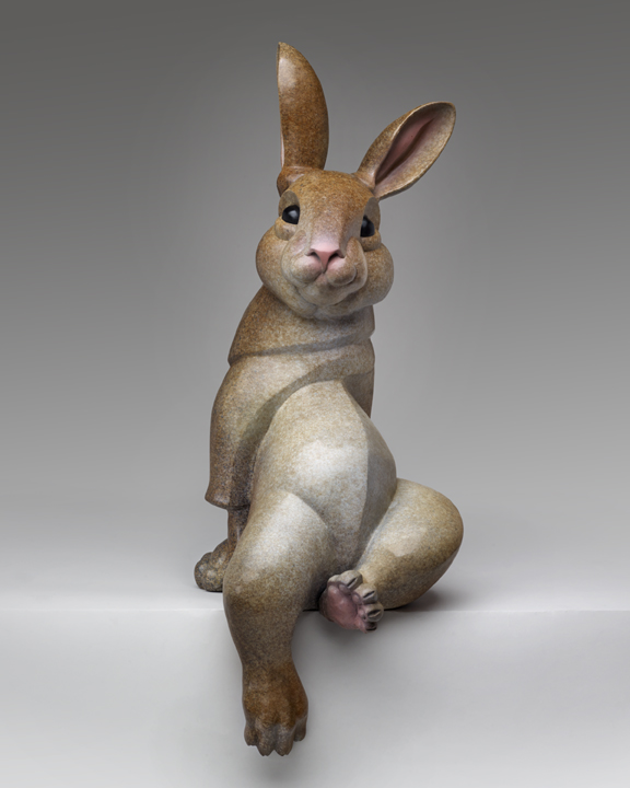1-Pokey Park-Cottontail Rabbit-34x14.5x14-Bronze.jpg