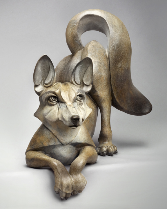 3-PokeyPark-Kit fox-23x25x17-Bronze.jpg