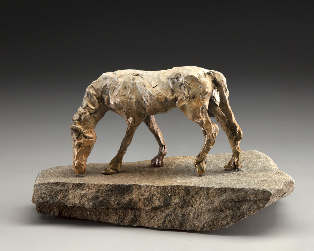 41 - Pasture Peace, 4.5 x 7 x 4, Bronze