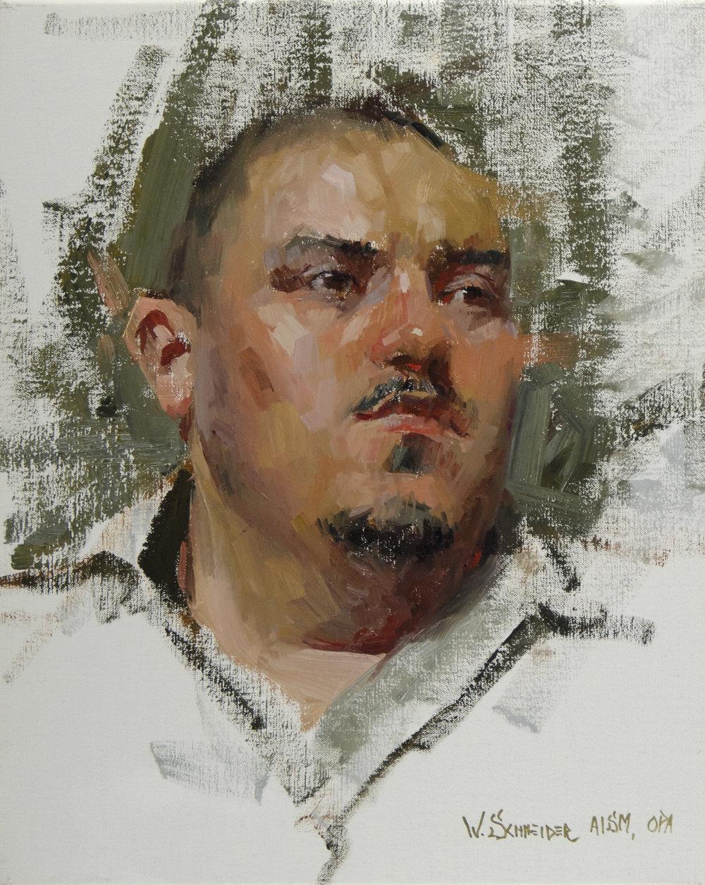 27 - Jose, 20 x 16, Oil