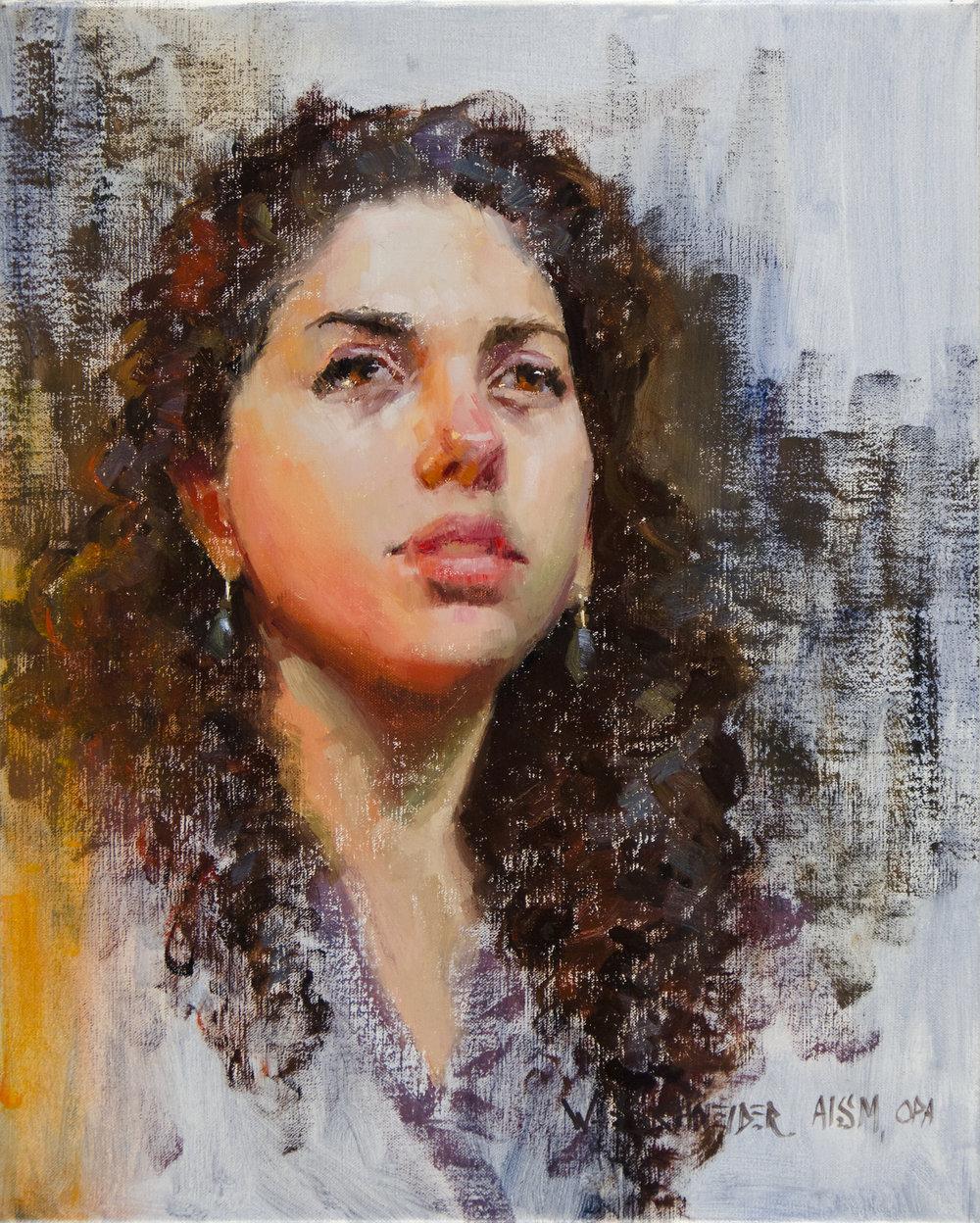 8 - Bella Notte, 20 x 16, Oil