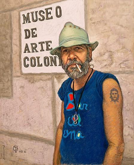 73 - Cuban Artist, 24 x 30, Pastel
