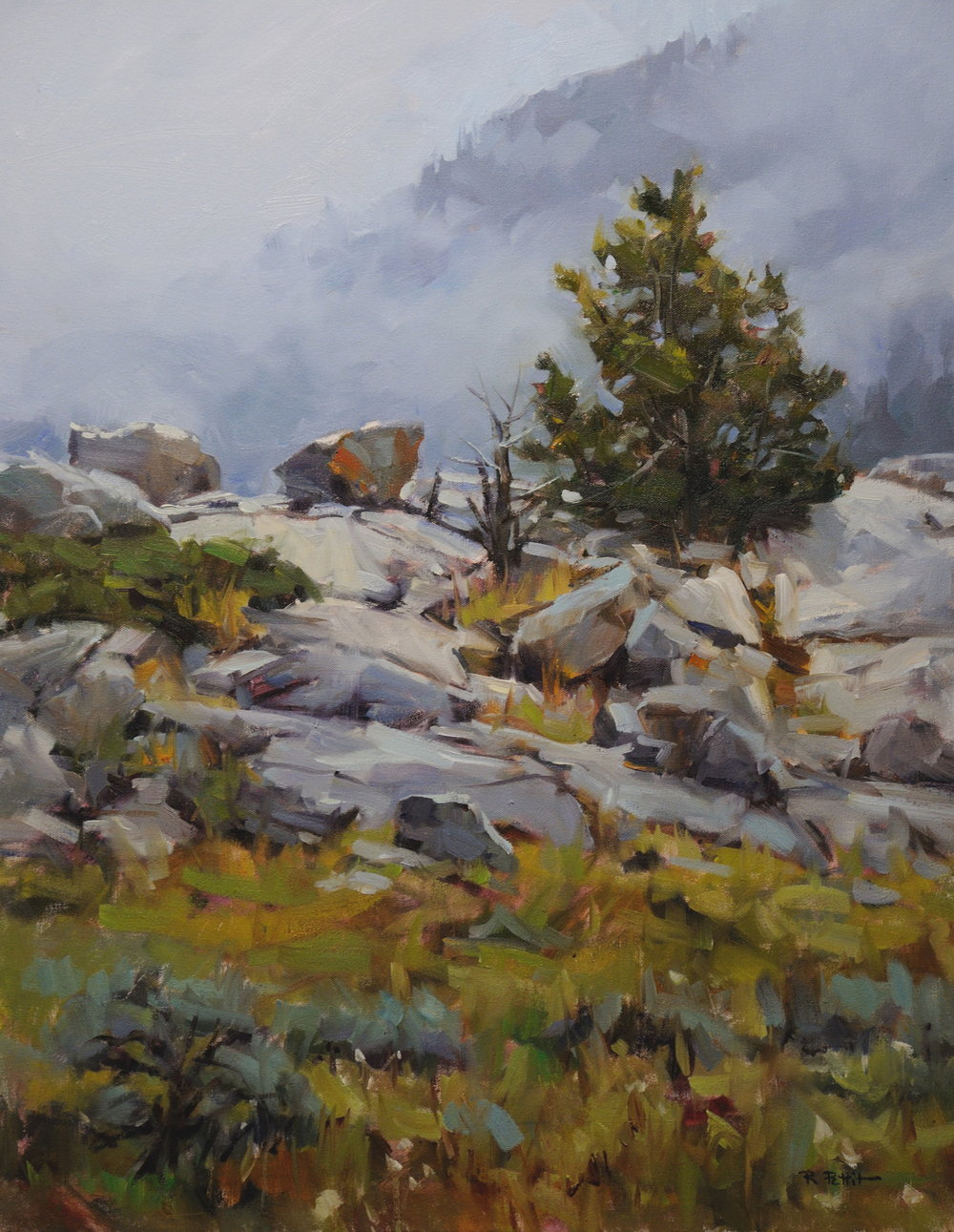 "Rachel Pettit ""Alpine Mist"""