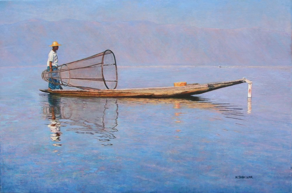 "Naomi Shachar ""The Fisherman"""