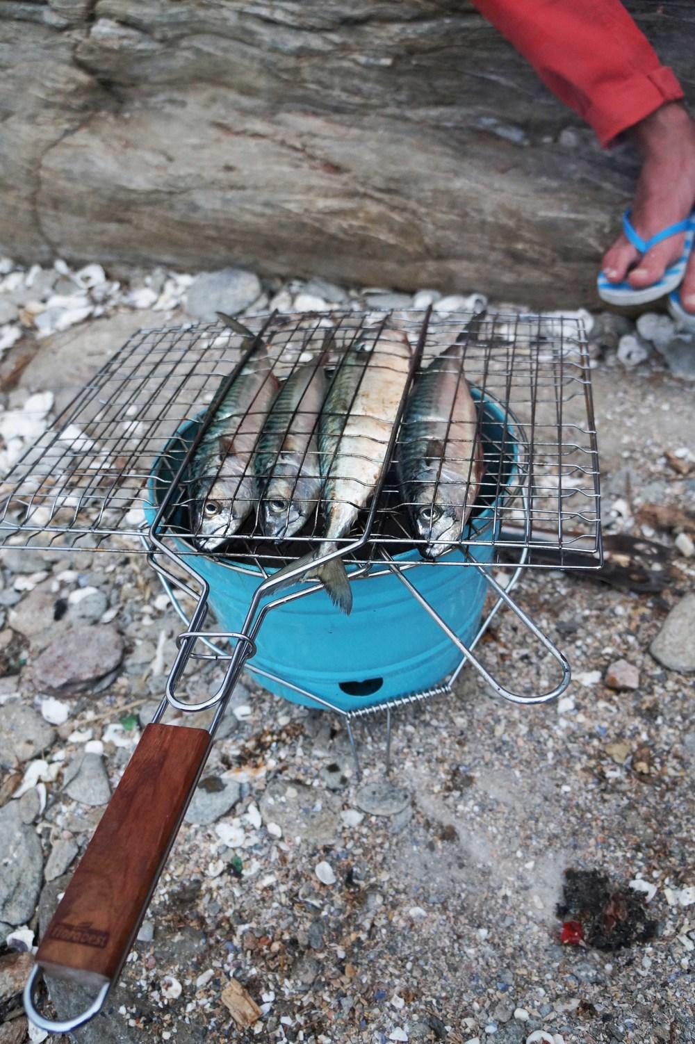 Makreel op de BBQ