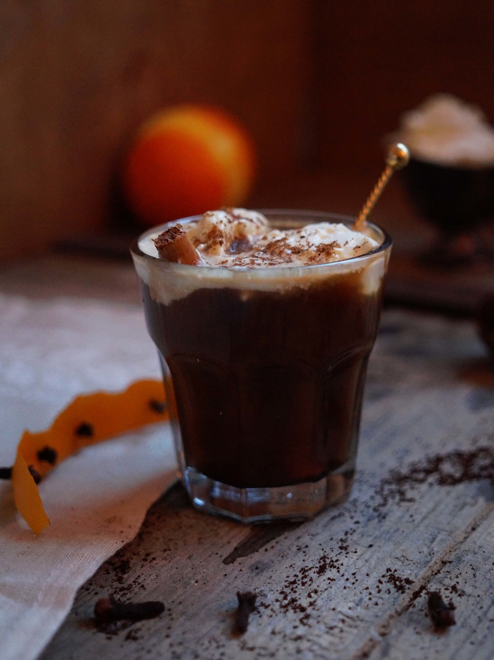 Café 'Brulot' - geflambeerde koffie met sinaasappel & specerijen