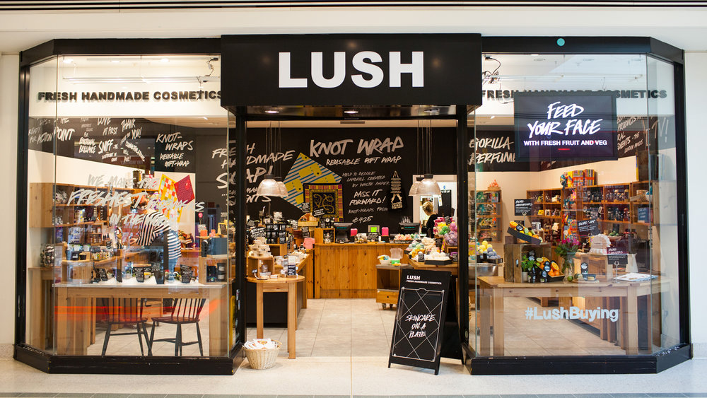 You can't go wrong with anything at this place!  Lush  is filled with Bath bombs, Sugar scrubs and all sorts of goodies.