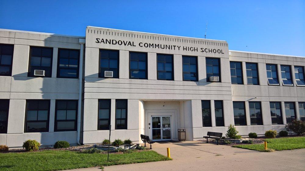 Sandoval, Illinois High School