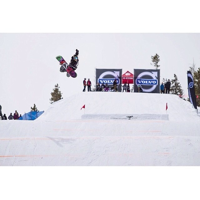 No question that @christyprior won #bestmethod!!! #communitycup2014 #whatalegend #style #snowboarding #keystonemoments
