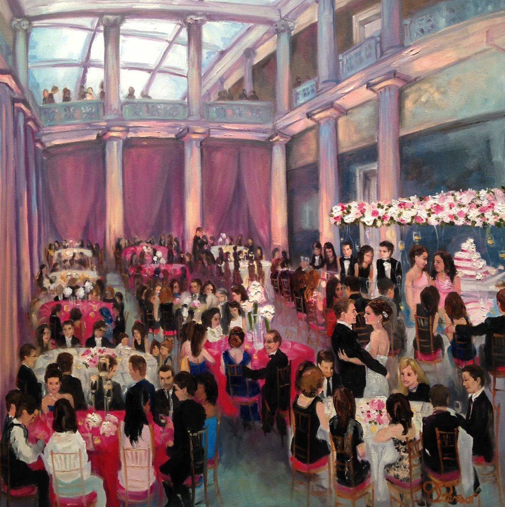 Wedding Reception at The Corcoran Gallery of Art