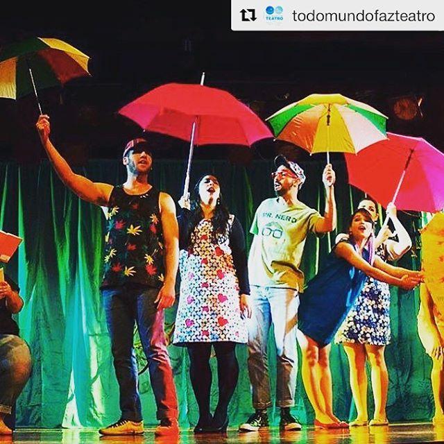 TODO MUNDO FAZ TEATRO! Incrível! Parabéns! #Repost @todomundofazteatro with @repostapp ・・・ Quase Normal - hoje 20 h teatro Modulo #todomundofazcanto15anos #25anosTMFT