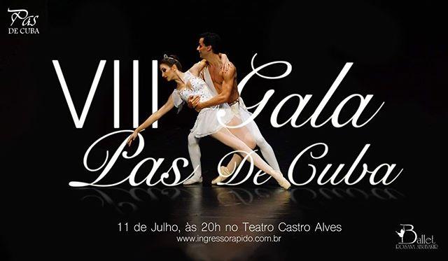 Para mais informações acesse www.balletrosanaabubakir.com.br ou www.pasdecuba.com.br  #VidaNoBRA #balletrosanaabubakir #pasdecuba2016 #VIIIpasdecuba #Ballet